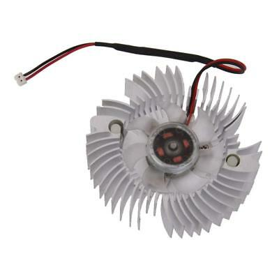 DC12V 2Pin Cooler Cooling Fan 80mm for PC Computer GPU VGA Video Card