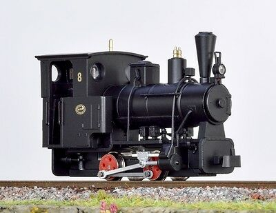 Minitrains 1042 - Boehler 0-4-0 Locomotive, Black - New (009/HOe Narrow Gauge)