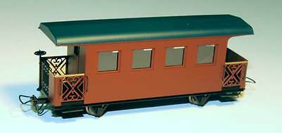 Minitrains 5194 - Passenger Coach, Brown - New (009/HOe Narrow Gauge)