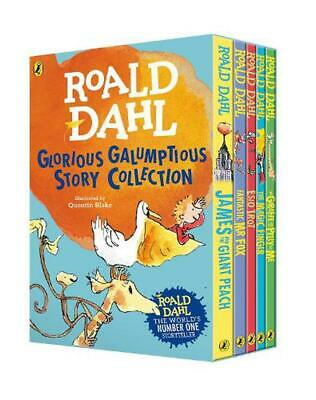 Roald Dahl's Glorious Galumptious Story Collection by Roald Dahl Paperback Book
