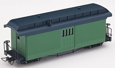 Minitrains 5174 - F&C Mail Coach, Green - New (009/HOe Narrow Gauge)