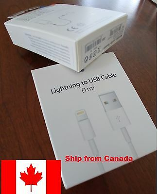 Original OEM apple iphone 5 5s 5c 6 plus cable sync data charger lightning usb!