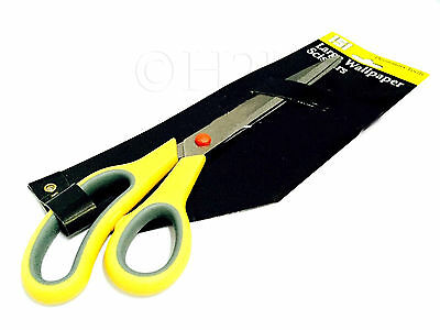 12'' SCISSORS Decorating Tailor Shears Soft Grip Handle Long Large WALLPAPER