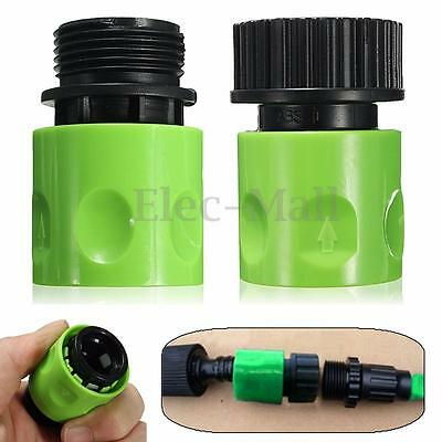 Complete Garden Hose Quick Connect Set Kit Plastic Hose Tap