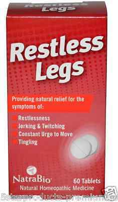 New Natrabio Restless Legs Jerking Twitching Tingling No Drowsy Effective Relief