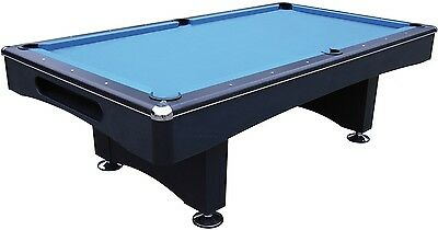 Pool Pool table Black Pool 9 ft with Slate slab incl. Installation + Accessories