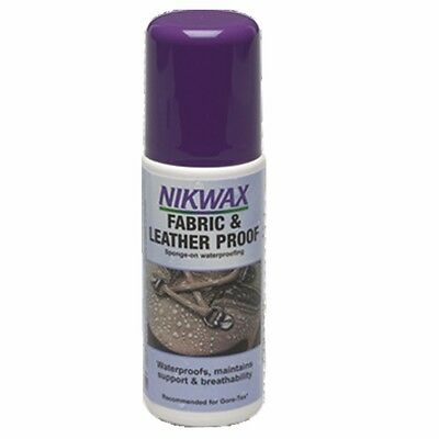 125ml Fabric Leather Waterproofing Spray - Nikwax Glove Proof & Outdoor Camping