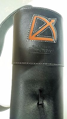 Silver Archery- Back quiver black long