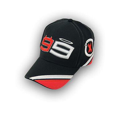New Official Jorge Lorenzo No.99 Black/White/Red Cap  13 41202
