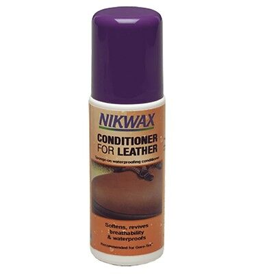125ml Leather Conditioner - Nikwax For Sponge Waterproof Outdoor Camping Gear
