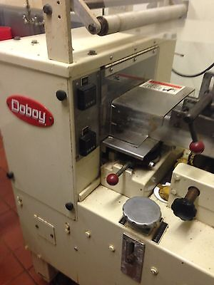 PRICE REDUCED!! DOBOY SCOTTY 1-up Flow Wrapper Machine