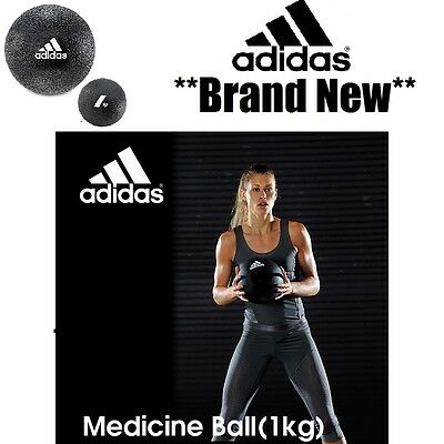 ADIDAS 1kg MEDICINE BALL STRENGTH CORE FITNESS GYM EXERCISE MMA RDX RRP £40