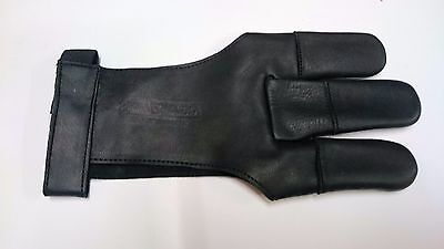 Silver Archery-Leather Shooting Glove RH/LH-Hand crafted from  Analeen Cow Skin