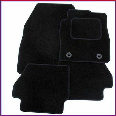 Mazda 3 MK II 2009-2013 Fully Tailored 4 Piece Car Mat Set with 8 Clips