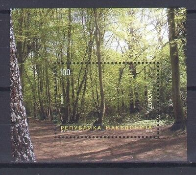 Macedonia, Europa Cept 2011, Forest Theme S/s, Mnh
