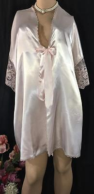 Vintage Colesce Collection Dressing Gown Robe OSFA Pink