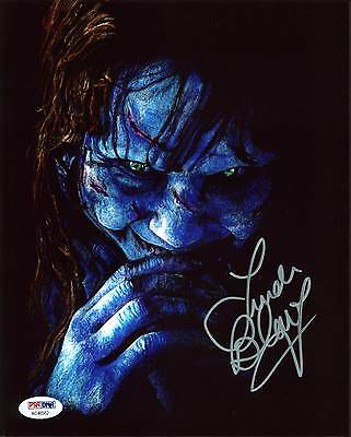 Linda Blair The Exorcist Authentic Signed 8X10 Photo Autographed PSA/DNA 12