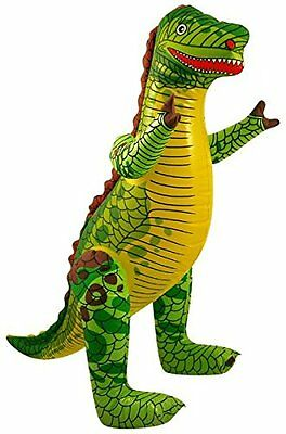 Inflatable DINOSAUR - 43 CM tall  Zoo Animal Blow Up Inflate Party Toy
