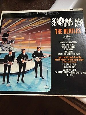 "Beatles ""Something New"" Stereo Apple Label"