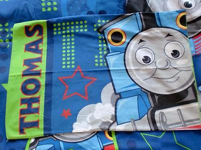 Modern Thomas The Tank Engine Cartoon Single Duvet Cover & Pillow Case Set