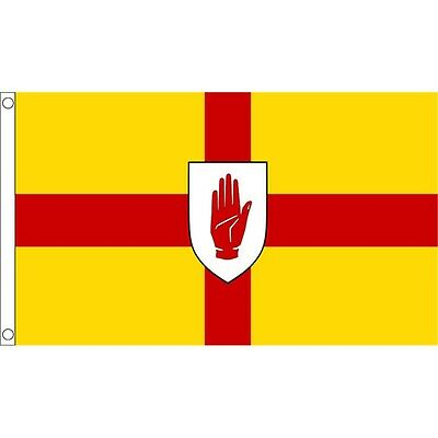 3ft x 2ft Small Ulster Flag - 3ft Metal Eyelets
