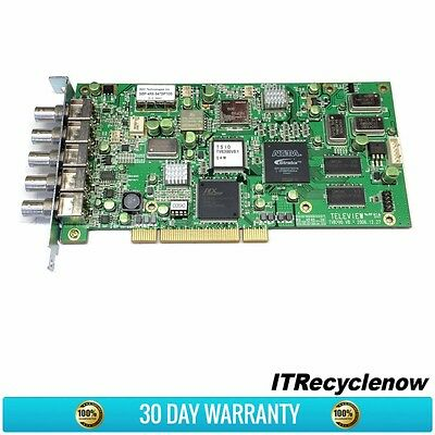 DVEO Teleview TVB390 TSIO QAM-A QAM-B PCI DVR 5-Port MultiMode Modulator Card