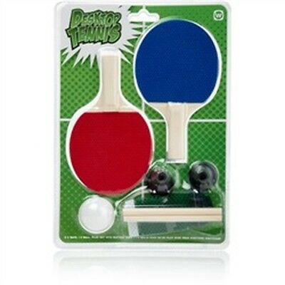 Desktop Table Tennis Ping Pong Set - Bats Net Top Game