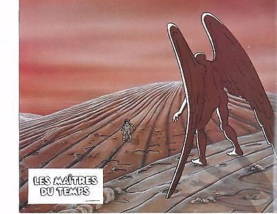 """MOEBIUS ART! """"Les Maîtres du temps"""" USA """"Time Masters"""" French'82 Animated Sci Fi"""