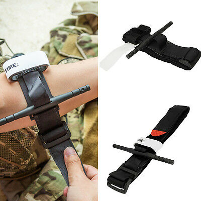 New Tourniquet Buckle First Aid Medical Tool For Emergency Injury Black DE