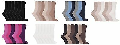 6 Pairs IOMI Footnurse SockShop Diabetic Gentle Grip Socks 4-8 uk 37-42 Eur