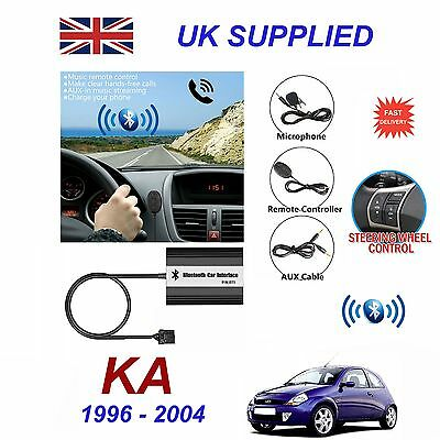 For Ford KA Bluetooth Hands Free Phone AUX Input MP3 USB Charger Module 12 Pin