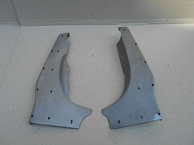 LAMBRETTA REAR RUNNING BOARDS OILED BARE METAL SERIES 3 Li TV SX GP