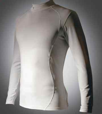 Precision Training Base Layer Long Sleeve Tee White Small Boys 24-26 inch chest