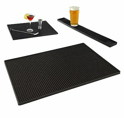 Rubber Service Bar Mat Heavy Duty Home Bar and Rubber Drip Mats 300 x 450mm