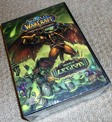 World Of Warcraft March Of The Legion Starter Deck Factory Sealed Free Ship