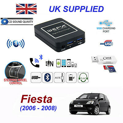 For Ford FIESTA Bluetooth Hands Free Phone AUX Input MP3 USB Charger Module 40P