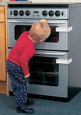 Clippasafe Microwave/oven Lock Child Safety Keep Away From Hot Surface & Items #