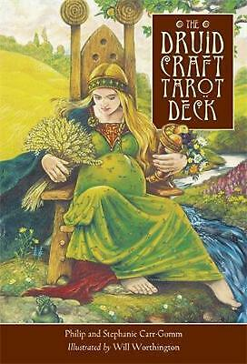 The Druid Craft Tarot Deck by Philip Carr-gomm (English) Book & Merchandise Book