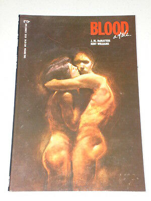 Blood A Tale Graphic Novel J.m. Dematteis Volume 2