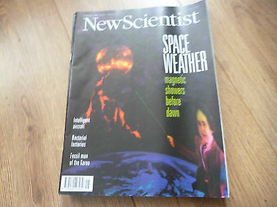 New Scientist Magazine*no.2015*february 3 1996*space Weather*science