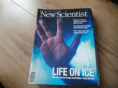 New Scientist Magazine*no. 2132*may 2 1998*science*technology*life On Ice