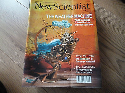 New Scientist Magazine*no.2119*january 31 1998*science*the Weather Machine