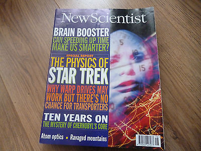 New Scientist Magazine*no.2026*april 20 1996*the Physics Of Star Trek*science