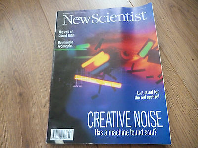 New Scientist Magazine*no.2013*january 20 1996*creative Noise*science