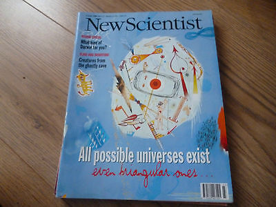 New Scientist Magazine*no. 2137*june 6 1998*science*technology*