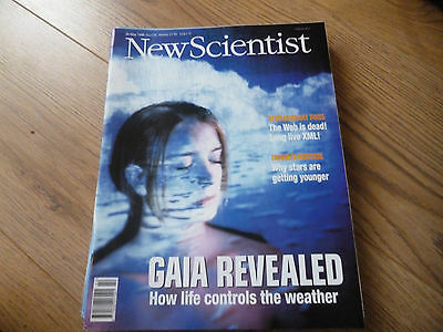 New Scientist Magazine*no. 2136*may 30 1998*science*technology*gaia Revealed