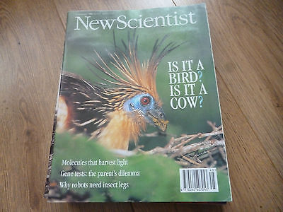New Scientist Magazine*no.1951*november 12 1994*is It A Bird? Is It A Cow?