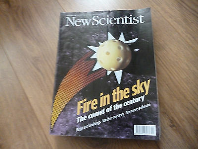 New Scientist Magazine*no.2054*november 2 1996*fire In The Sky*vaccine Mystery