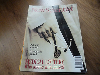 New Scientist Magazine*no.1943*sept 17 1994*medical Lottery Who Knows What Cures