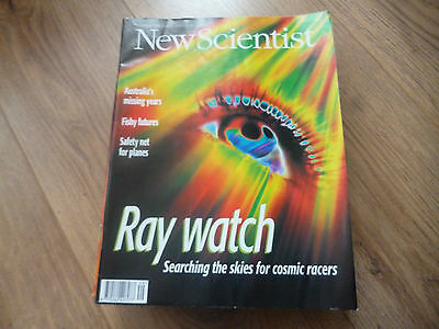 New Scientist Magazine*no.2059*december 7 1996*searching The Skies For Cosmic..